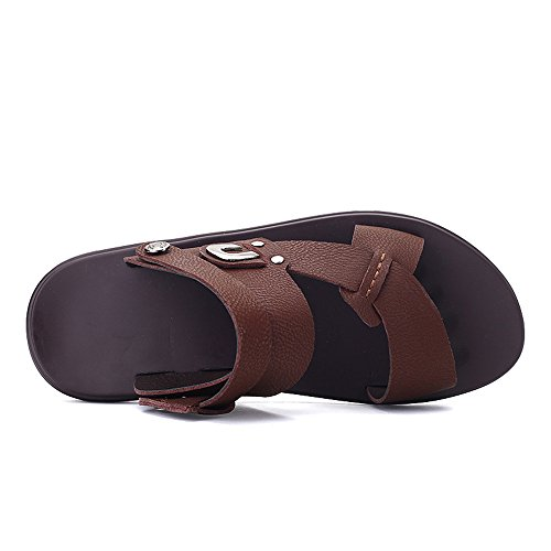 Sandali Uomo Marrone 40 Brown XZP R0f8wxqn8