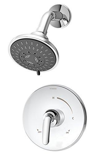 Symmons 5501 Elm 1- Handle Shower Faucet System, Chrome
