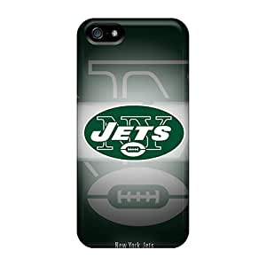 Excellent Cell-phone Hard Cover For Apple Iphone 5/5s (ZHA10970uBys) Provide Private Custom Trendy New York Jets Skin