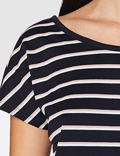 VERO MODA damski t-shirt Vmhannelua Boatneck Ss Top Box JRS Ga: Odzież