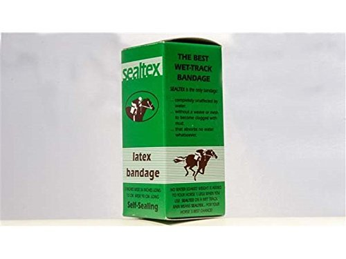 Sealtex - Latex Waterproof Bandage For Horses - The Only Bandage That Is Completely Unaffected By Water. Self sealing by William Hunter Equestrian
