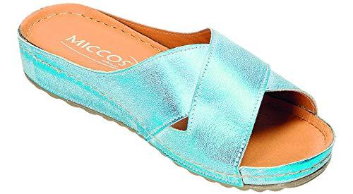 Mules Pour Bleu Pour Miccos Femme Femme Bleu Miccos Miccos Mules Mules f0FqxCwF