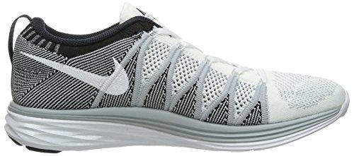 NIKE 620465 601 - Zapatillas de correr de material sintético hombre White / Wolf Grey / Black