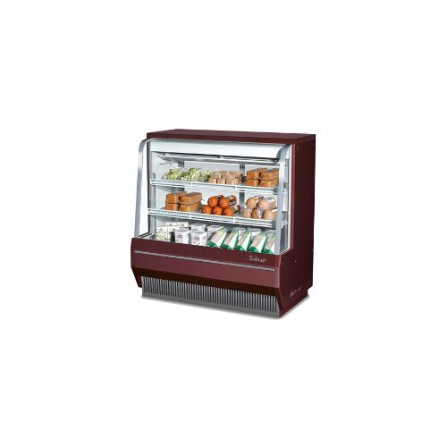 (Turbo Tcdd-72-2-H Bakery or Deli Case, Refrigerated, Curved Glass, Single Duty,)