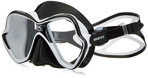 - Mares X-Vision Ultra Liquid Skin Dive Mask, Black/Grey