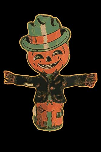 Beistle Die Cut Halloween (Pumpkin Halloween Scarecrow: Blank Lined Notebook, Journal or)
