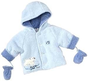 Stummer - Abrigo para niño azul de 100% poliéster, talla: 56cm (0-3 meses)