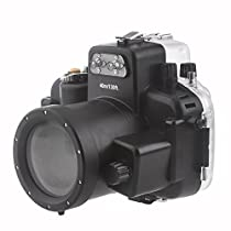EACHSHOT 40M Waterproof Underwater Camera Housing Case Bag for Nikon D7000 Camera