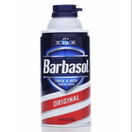 Price comparison product image Barbasol Beard Buster Shaving Cream Original 10 oz (Pack of 4) WLM