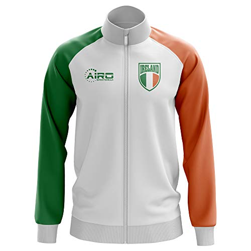 Airo Sportswear Ireland Concept Football Track Jacket (White)