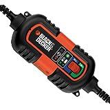 BDV090 Chargeur - Mainteneur De Batterie 6-12v Black + Decker