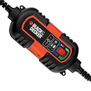 Chargeur Mainteneur de batterie 6-12v Black + Decker.