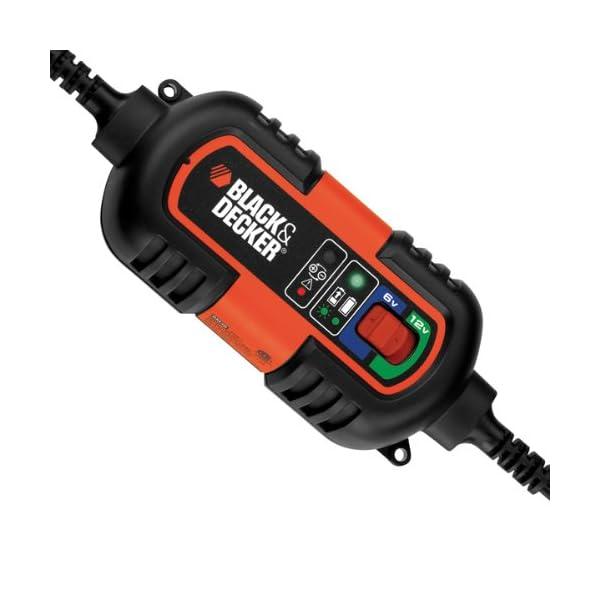 Chargeur Mainteneur de batterie 6-12v Black + Decker.
