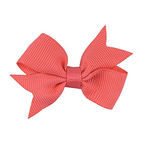 Small bow hairpin children's headdress cute non-slip bangs alligator clip suitable girls small accessories hairpin -