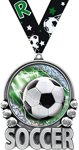 Crown Awards Soccer Medal - 3