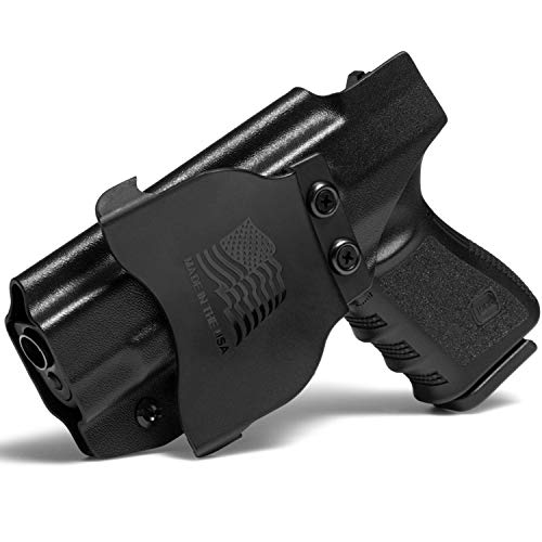 Concealment Express OWB Paddle KYDEX Holster fits Glock G48 | Right | Black