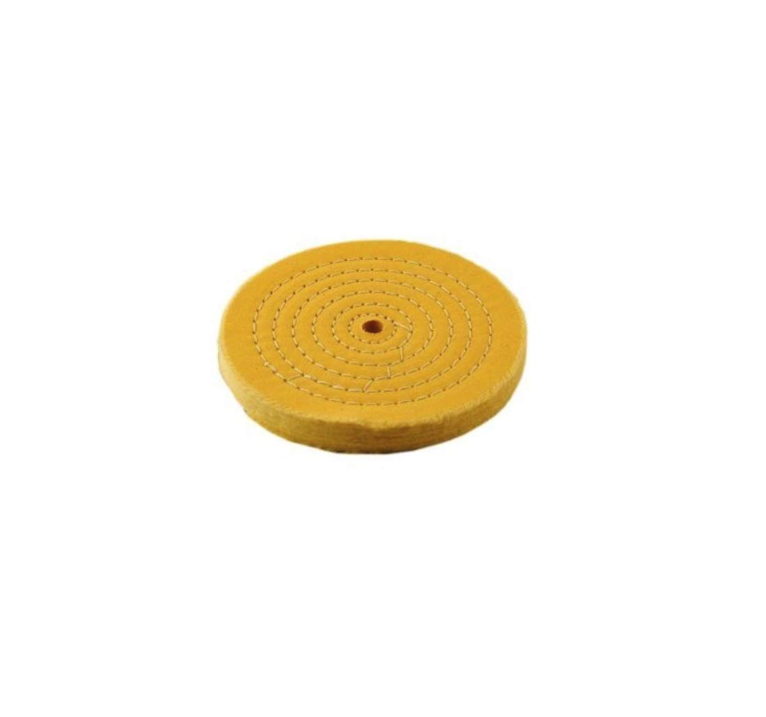 Treated Buffing Wheel, 6 (50 Ply) (2-Pack) PJ Tool