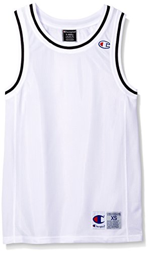Champion Men's Life City Mesh Tank Jersey Top, White, XS (Champion White Tank Top)