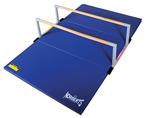 Norbert's Athletic Products LPB-446 Low P-Bar Gymnastics Mat, 4' x 6' x 1-3/8