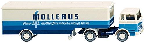 Wiking 051318 - Koffersattelzug (MB 1620) 'Mollerus' (1:87)