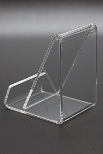 FixtureDisplays Business Card Size Clear Easel Acrylic 4 Cellphone Wallet 20008-E-NF by FixtureDisplays (Image #2)