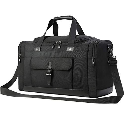 Domila Travel Duffel Bag Unisex Weekender Bag, TSA Friendly, Carry-on Luggage Tote Overnight Bag, 21'' L, ()