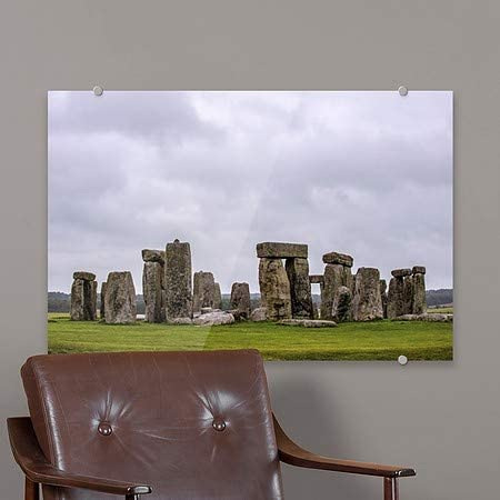 | 18x12 Circle CaptureStonehenge -Horizontal Premium Acrylic Sign 5-Pack CGSignLab