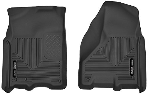 Husky Liners 53511 Black X-act Contour Front Floor Liners Fits 2009-2018 Dodge Ram 1500 Crew Cab, 2019 Dodge Ram 1500 Classic Crew Cab, 2010-2018 Dodge Ram 2500/3500 Crew Cab Cab Black Front Floor Liners