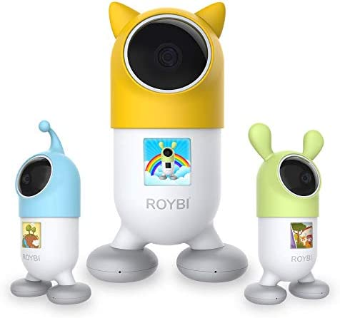 ROYBI Robot | The AI Smart Educational Robot For Preschool Kids Virtual Learning | Language & STEM Learning Toy With 500+ Interactive Lessons | Mom's Choice & Parents Award Winner