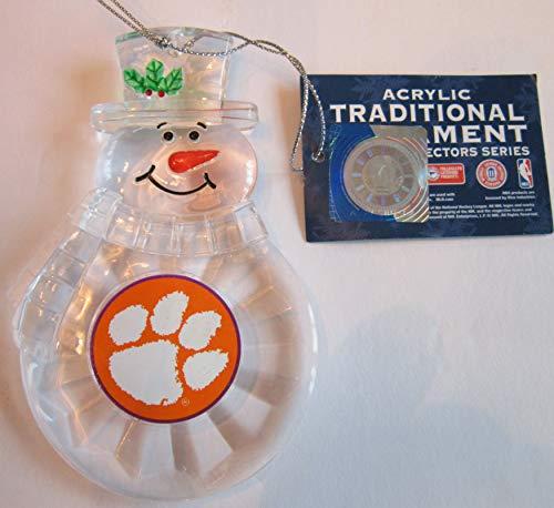 NCAA Clemson Tigers Traditional Snowman ()