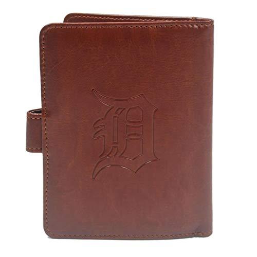 - MLB Brown Passport Holder Case with RFID Blocking for Women & Men - Detroit Tigers