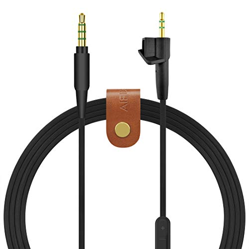 Geekria Audio Cable Replacement for Bose Around-Ear AE2, AE2i, AE2w Headphones Replacement Cable/ Audio Cord with Volume Control and Microphone, Works With Apple Device, Android, Windows Phone