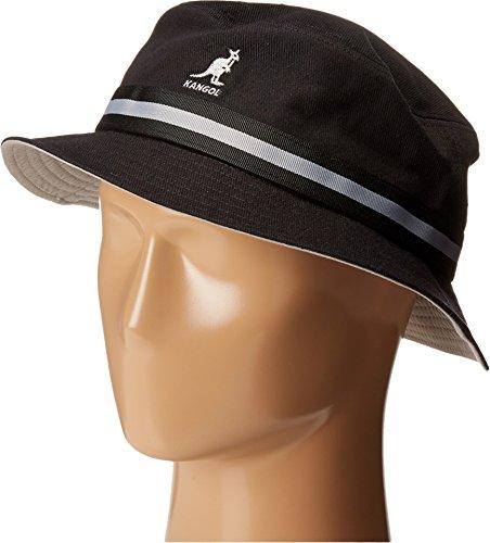 - Kangol Men's Stripe Lahinch, Black, Large
