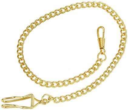 WZC Vintage Golden Vision 37.5cm Pocket Watch Chain