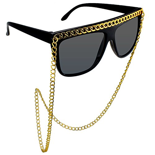 musykrafties Hip Hop Chunky Chain Party Costume Sunglasses Fun ()