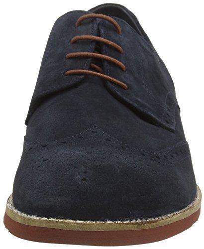 Red Tape Brickhill - Zapatos de vestir Hombre Azul (navy Suede)