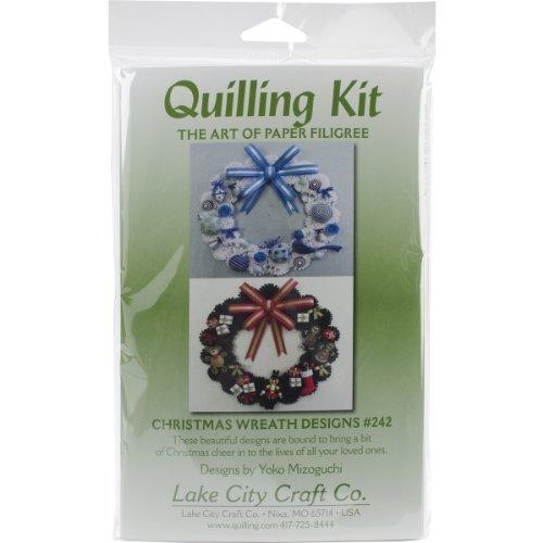 LAKE CITY CRAFT Janlynn Corp. 054-0090 Stamped Cross Stitch Kit, Just Ducky Bib