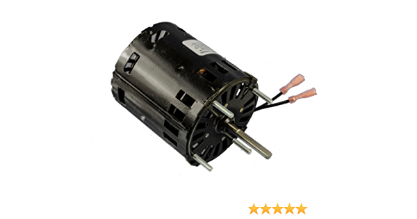 1.2 amps 60Hz 1500rpm 1//25HP Fasco D184 3.3 Frame Open Ventilated Shaded Pole General Purpose Motor with/ Sleeve Bearing 115V