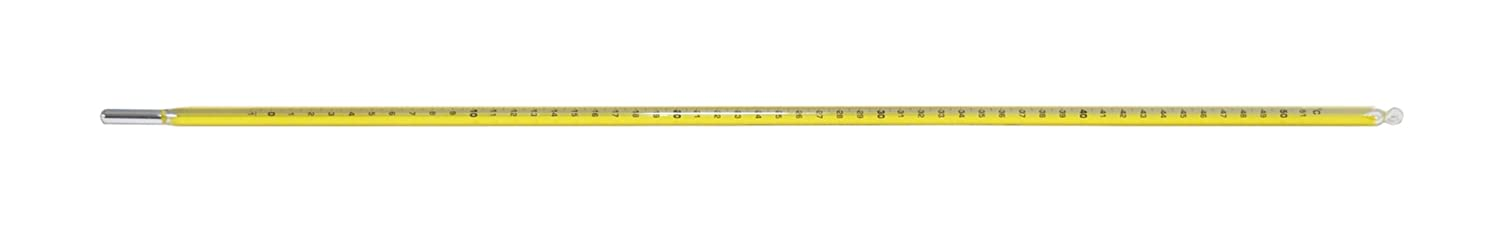 Total Immerson 460mm Length Thermco Products Inc. 0.2/°F Division 30 to 124/°F Range Thermco ACC1002S SAMA Extreme Fractional Degree Precision Red Spirit Filled Laboratory Thermometer