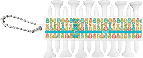 a3ec9e666f9 RNK Shops Fun Easter Bunnies Golf Tees & Ball Markers Set (Personalized) by  RNK