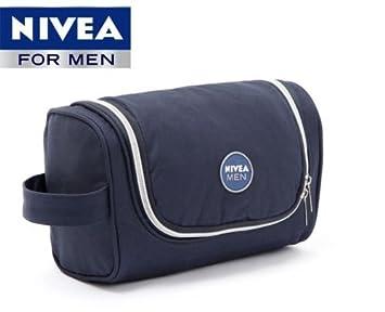 Buy NIVEA Mens Hanging Travel Toiletry Bag Shaving Case Cosmetic ...