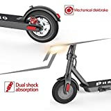 Electric Scooter Adults,8.5 Inch Solid Tire,Up to