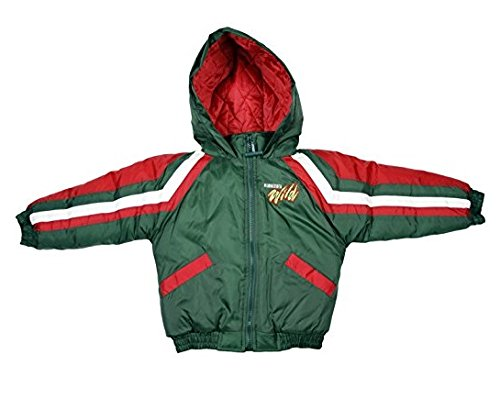 Minnesota Wild NHL Toddlers Hoodied Jacket, Green ()