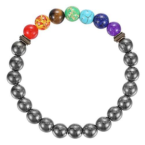 BRCbeads Gemstone Bracelets Rainbow Birthstone