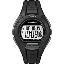 Timex Men's TW5K94000GP Ironman 10-Lap Black and Grey Watch