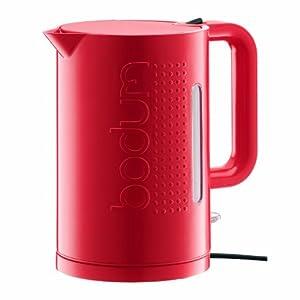 bodum bistro electric water kettle 1 5 l red kitchen home. Black Bedroom Furniture Sets. Home Design Ideas