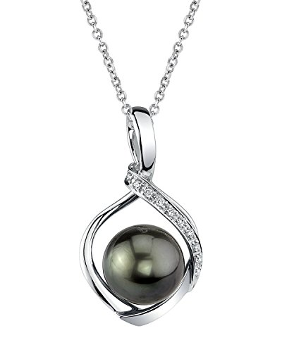 The Pearl Source 11mm Tahitian South Sea Cultured Pearl &...
