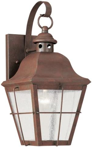 Seagull Lighting 8462-44, Weathered Copper