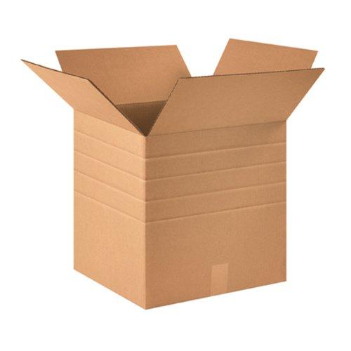 Aviditi MD161616 Multi-Depth Corrugated Box, 16