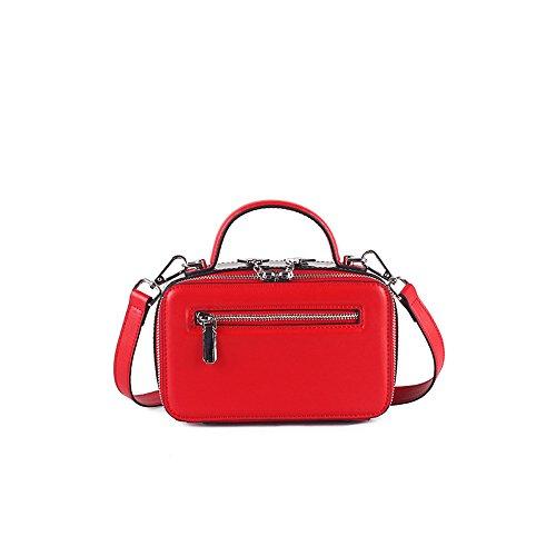 Red Pour L'épaule Femme Sac Porter Rouge Asdflina À 8nqzB5w